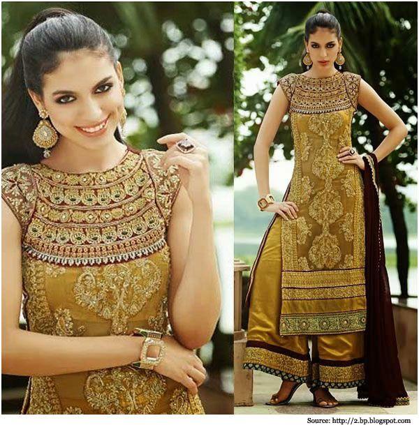 6 flattering neck designs for your salwar kameez