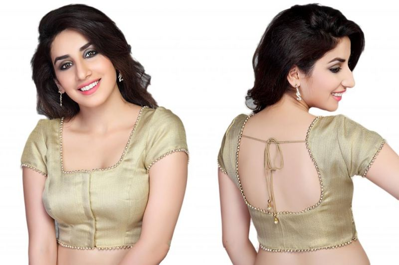 2fd690a24adcd 10 Simple Yet Stylish Blouse Designs for Cotton Sarees - FashionPro