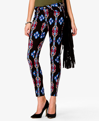 Ganado print leggings
