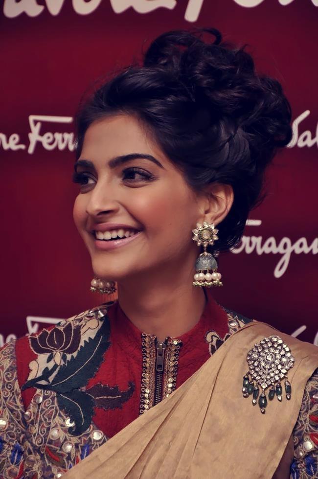 Sonam Kapoor's jhumkas Fashion