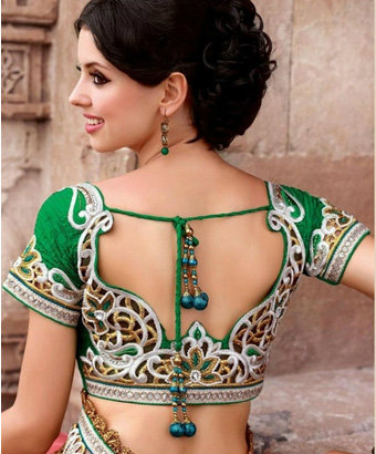 string style saree blouses