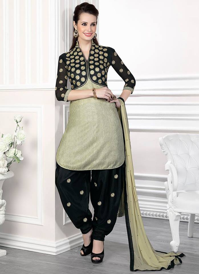 salwar kameez with shrug