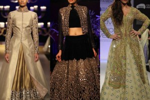 Shrugs with lehenga