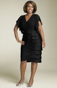 adrianna-papell-day-black-adrianna-papell-flutter-sleeve-tiered-dress-plus-product-2-2032566-206282351