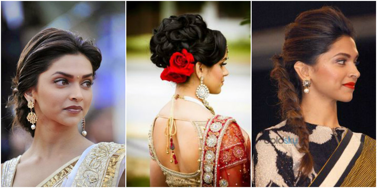 13 Classy Hairstyles For Sarees Fashionpro