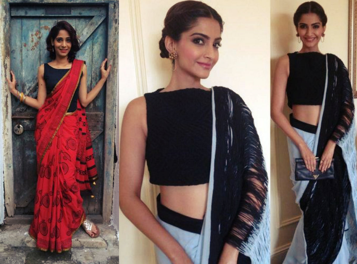How to wear saree easy way