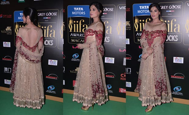 Richa Chaddha in a sheer anarkali