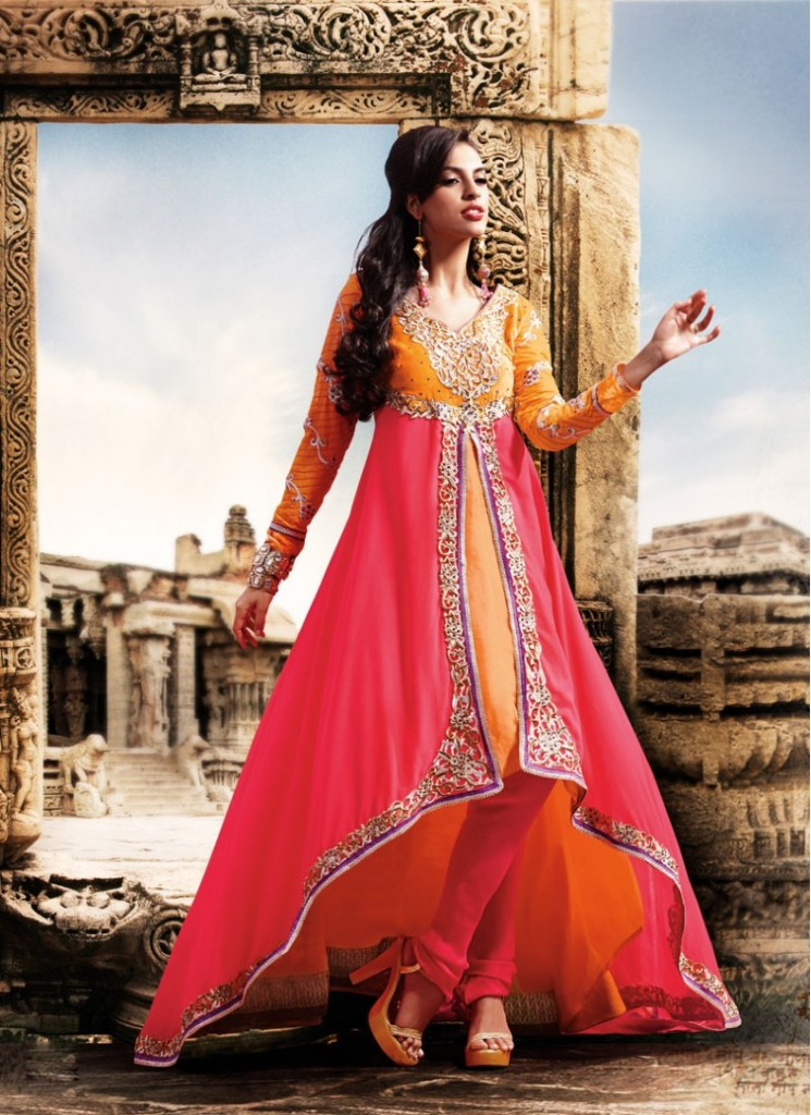 LOng-short anarkali