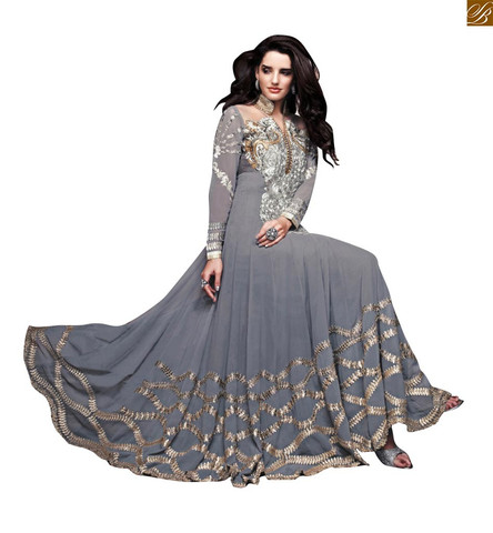Gown style anarkali