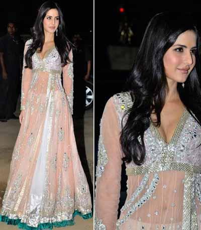 Katrina Kaif in a sheer anarkali
