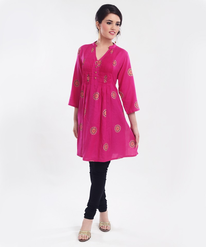 kurta with black leggings