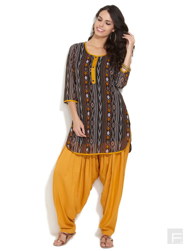 kurta with patiala