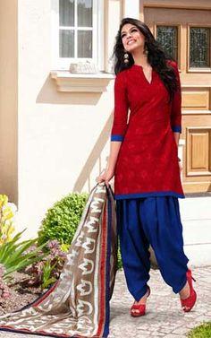 Kurti with salwar
