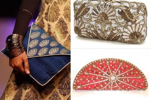 Hand held clutches.