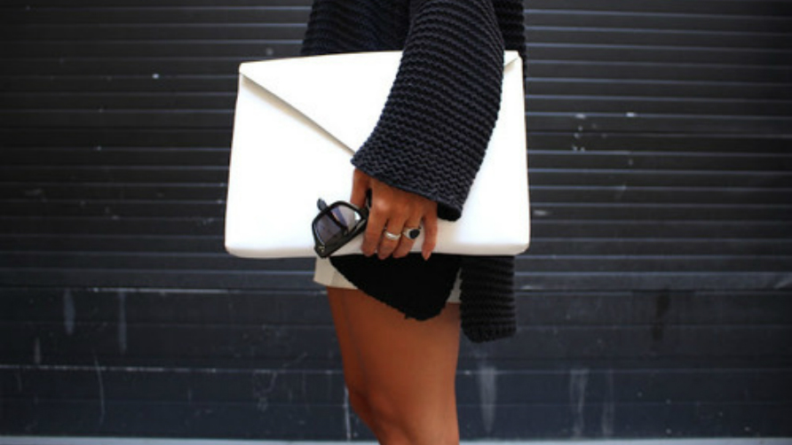 envelope clutch.