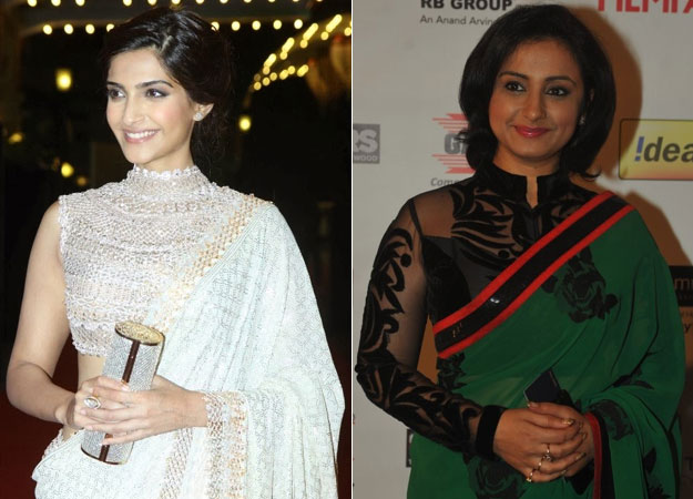 Bollywood actress in High-Neck Designer Blouse Designs