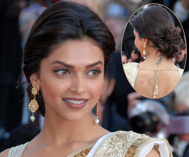 Hairstyles Inspired By Deepika Padukone_Low Twisted Bun