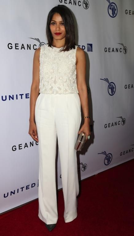 Freida Pinto at the Impact Africa Fundraiser