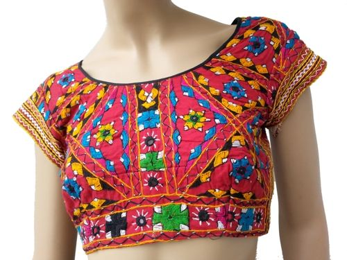Bujh embroidery on blouses