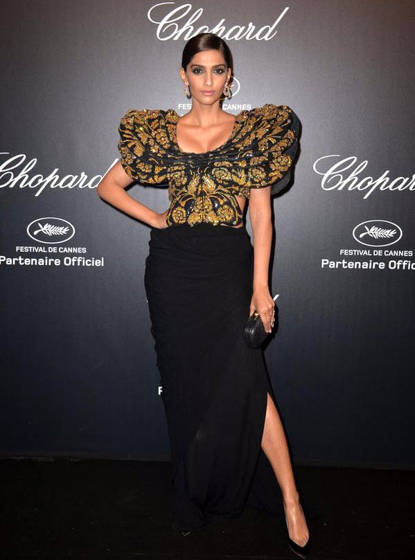 Sonam Kapoor at the Cannes 2015 Chopard Party