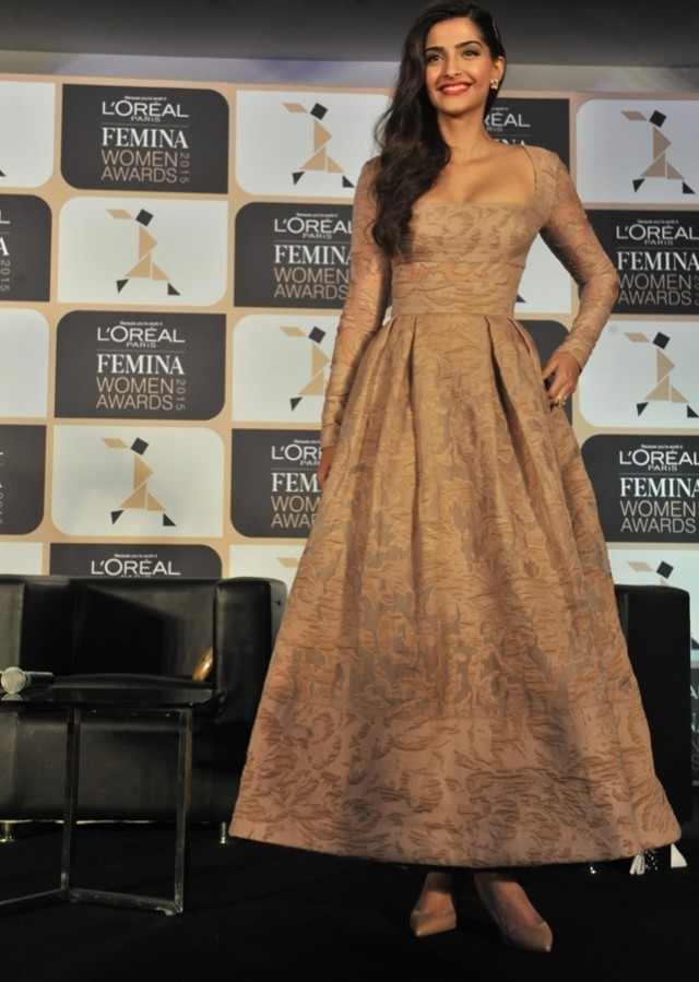 Sonam Kapoor at the Femina Women's Awards 2015