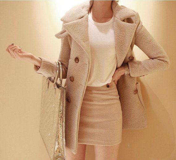 Woollen Trench Coat