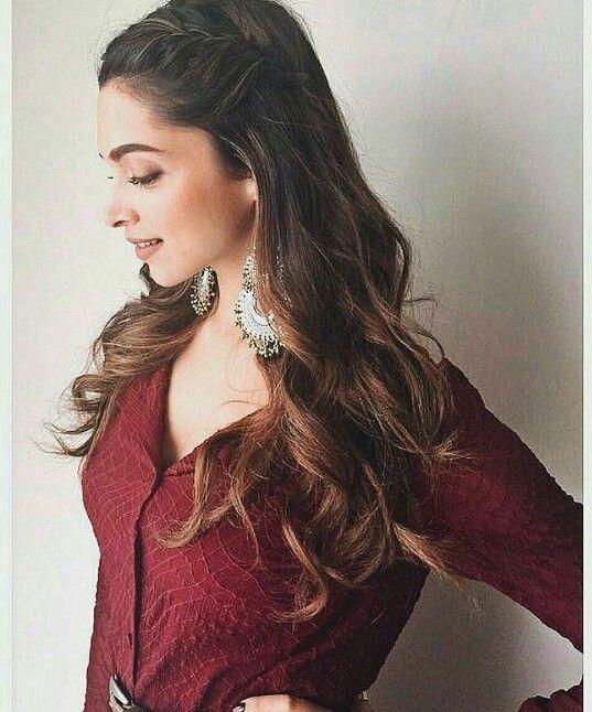 demi moore hairstyles : Hairstyles Inspired By Deepika Padukone_ The Side Bun source: www ...