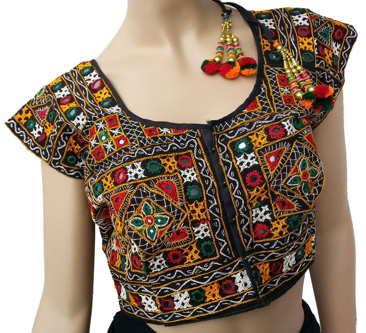 Kutch embroidery on blouses