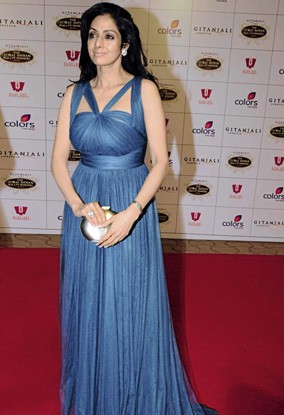 Sridevi at the 1st Global Indian Film & Television Honours