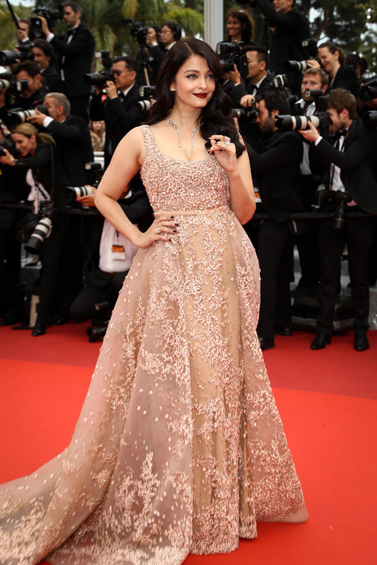 Aishwarya Rai at the 2016 Cannes Film Festival