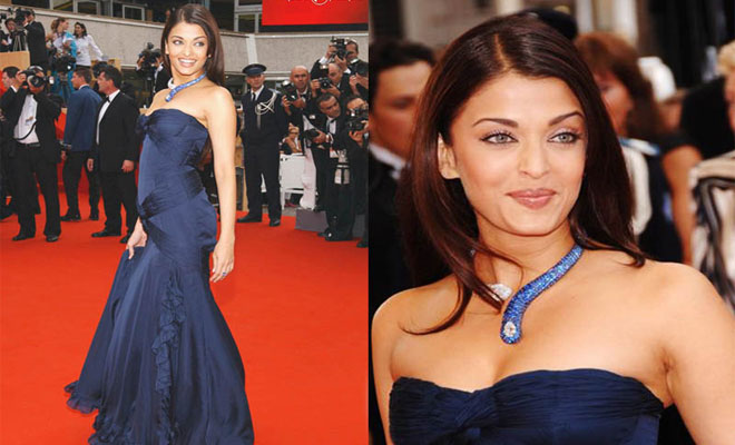 Aishwarya Rai at the 2006 Cannes Red Carpet