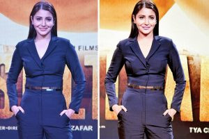 Anushka Sharma at the trailer release of Sultan