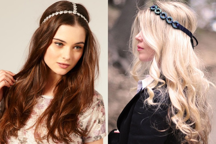 Different hair accessories