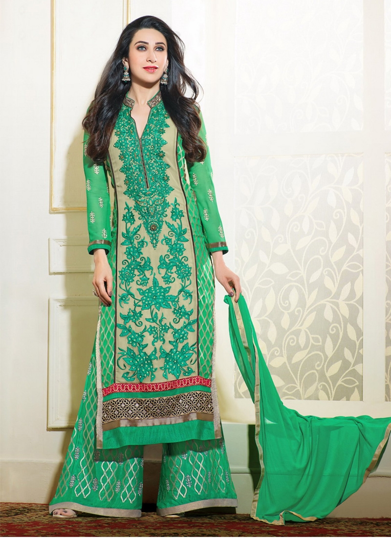 Karishma loves palazzo suits