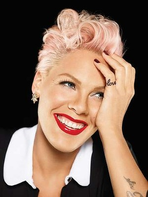 International music sensation Pink!