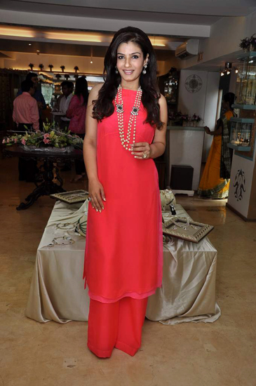 Raveena Tandon in Anita Dongre