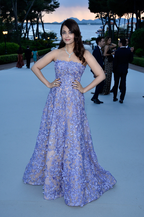 Aishwarya Rai at the 2015 amfAR Gala