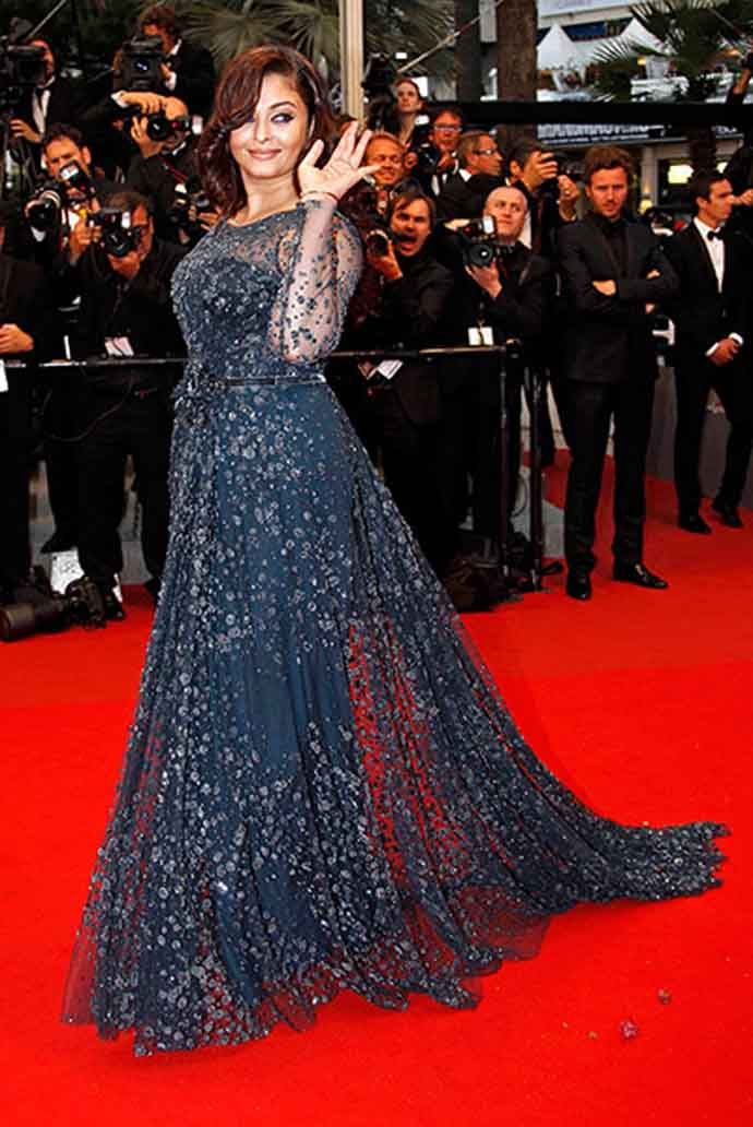 Aishwarya Rai at the Cannes 2012