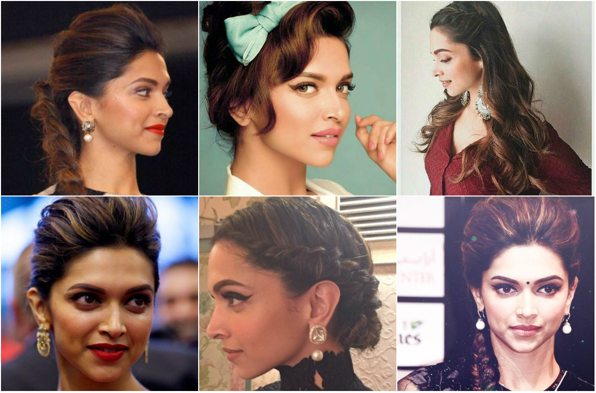 Hairstyles Inspired By Deepika Padukone