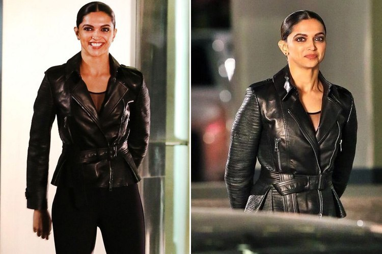 Deepika on the sets of XXX