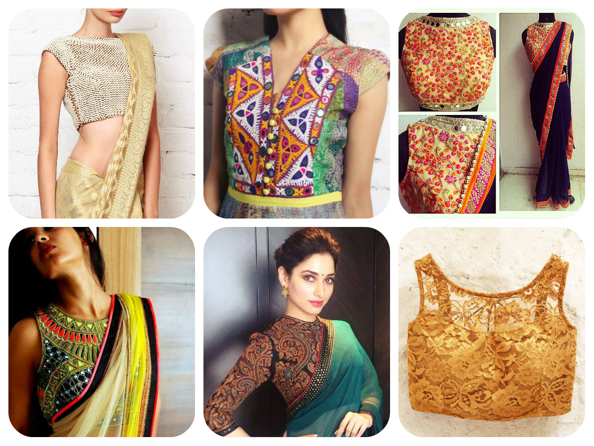 -embroidery on blouses