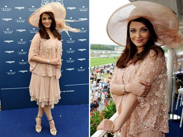 Aishwarya Rai at the 162nd Annual Prix de Diane in Paris