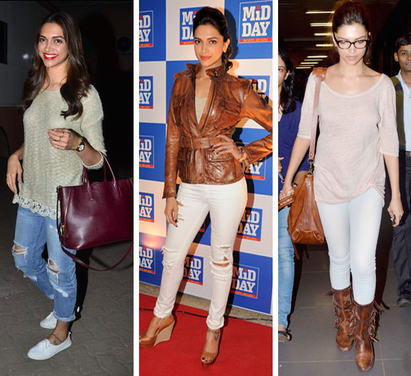 Deepika's Take on How to Look Trendy in Jeans In 5 Ways ...