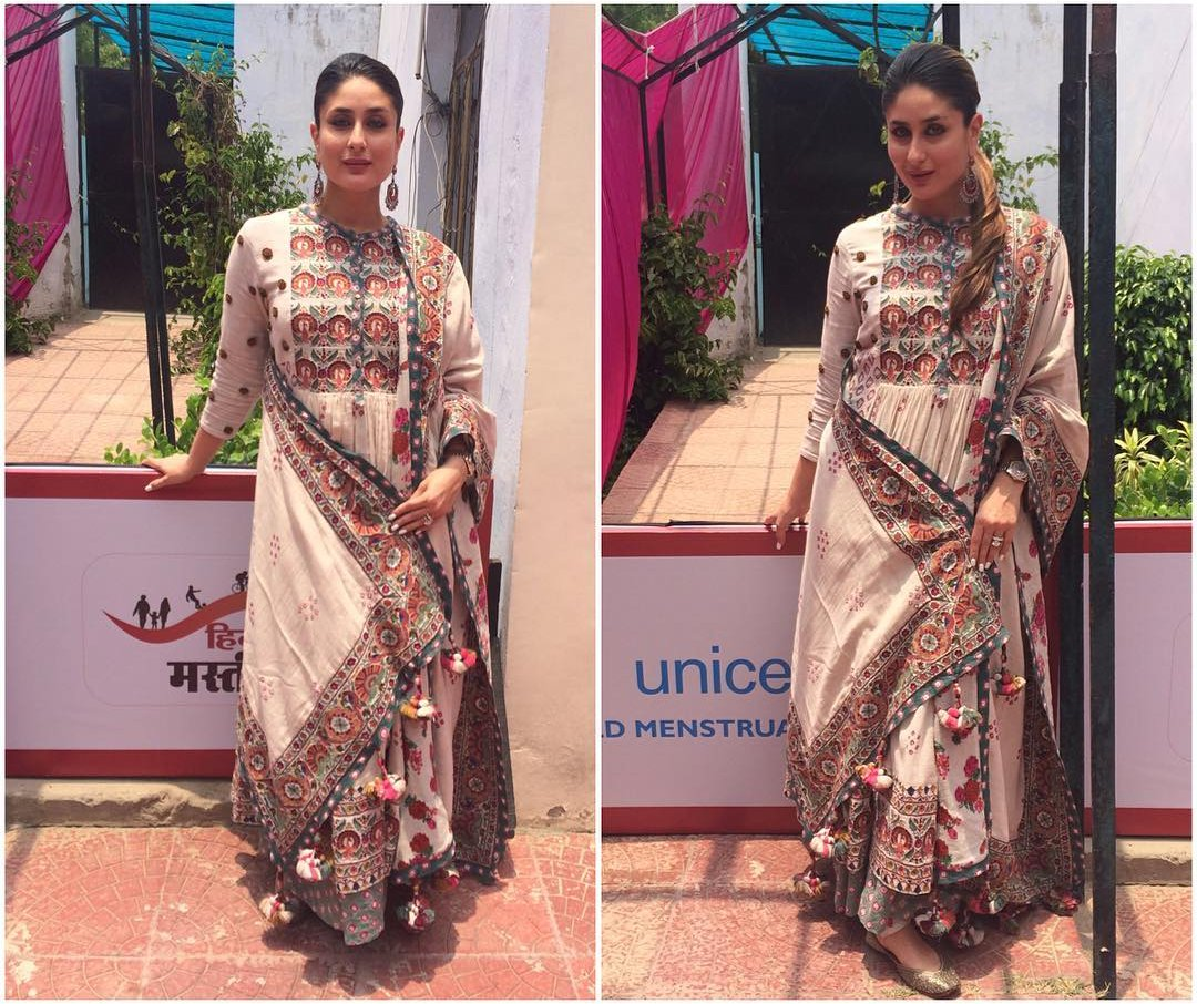 Kareena at an event in Lucknow