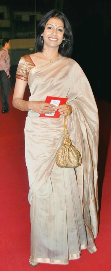Nandita Das with a batua