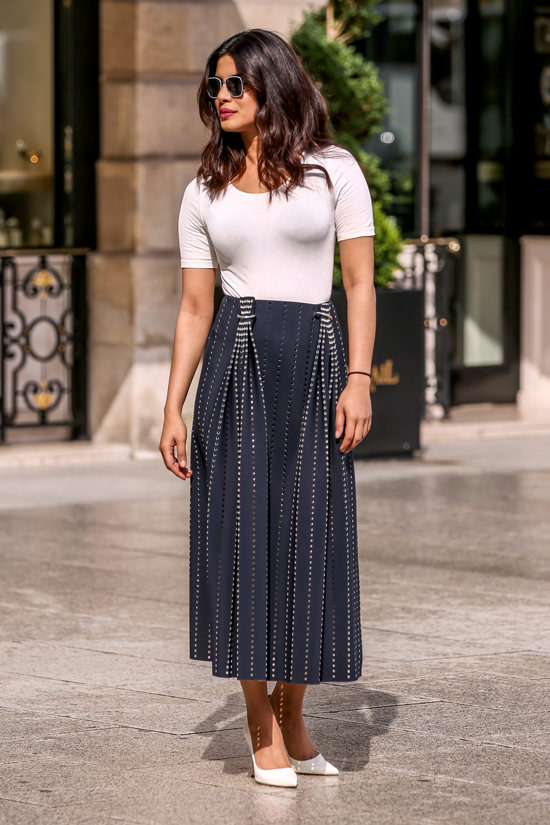 Priyanka in Paris to promote Quantico