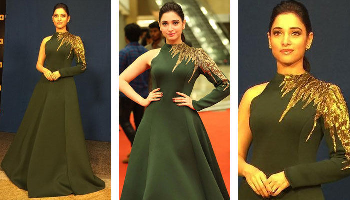 Tamannah's look at the event