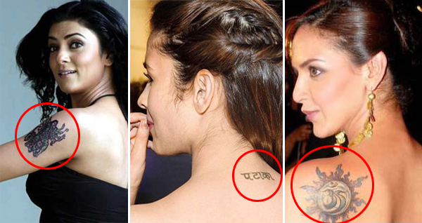 Bollywood Celebrity Tattoos That You Have Not Noticed ...