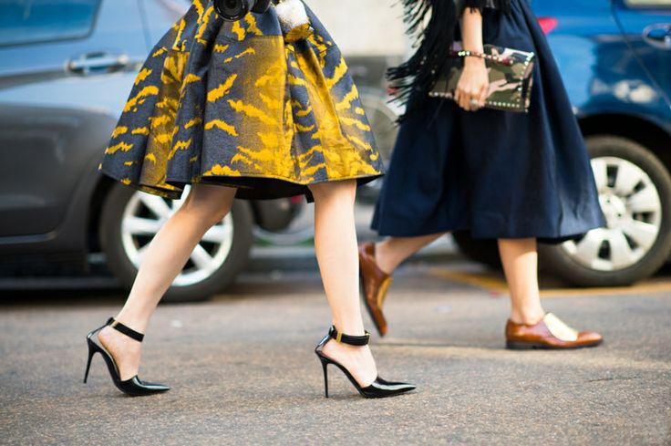 heels v/s no heels