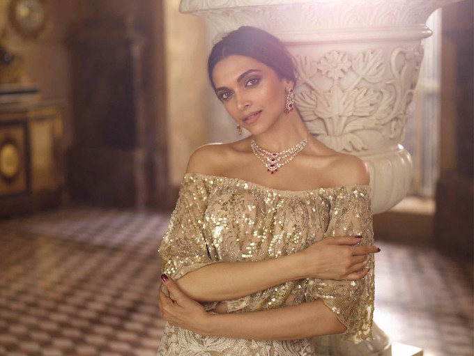 Deepika in Rubies
